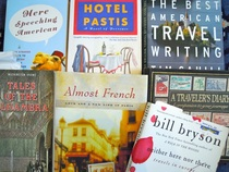 Travel books, learning a foreign language