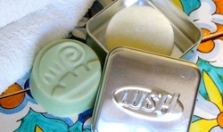 Travel laundry made easier with Lush soaps