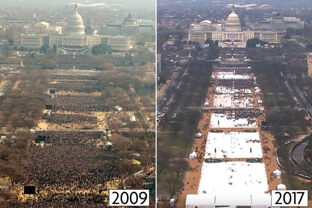 Crowd size at inauguration  / Is Free Press Still Necessary? / enjoylivingabroad.com