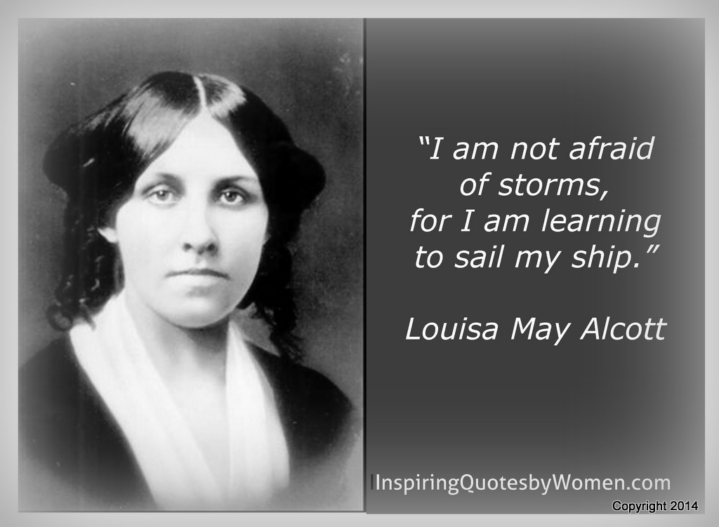 Louisa May Alcott Quote /