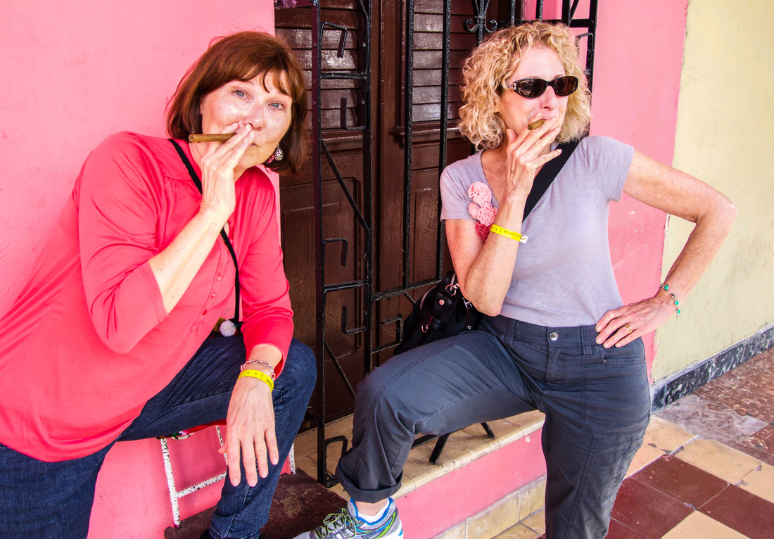 Smoking cigars in Cuba / Cuba: 10 Things to Know Before You Go / Karen McCann