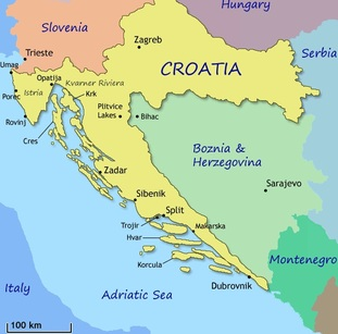 Croatia / Pop Quiz: Where's Zagreb? / Karen McCann / EnjoyLivingAbroad.com