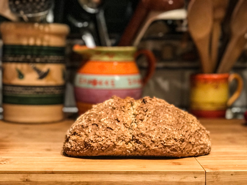 World's Best Irish Soda Bread /  Surviving the Pandemic / Keep Going! / Karen McCann / EnjoyLivingAbroad.com