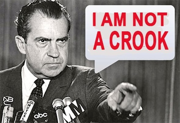 Nixon: I am not a crook / #VirtualTaxMarch / Karen McCann / EnjoyLivingAbroad.com