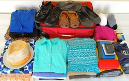 Packing light; a single suitcase for 3 months on the road