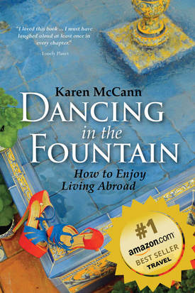 Dancing in the Fountain: How to Enjoy Living Abroad / Seville's Winter Wonderland / Lonely Planet top travel destination 2018 / Karen McCann / EnjoyLivingAbroad.com