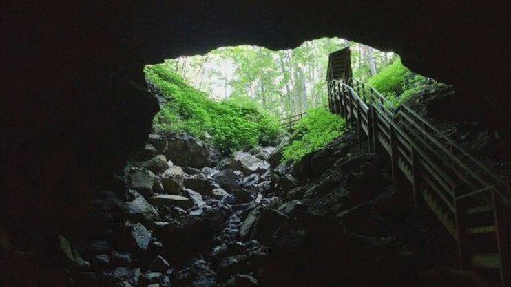 Organ Cave, West Virginia / Surviving the Pandemic / Keep Going! / Karen McCann / EnjoyLivingAbroad.com