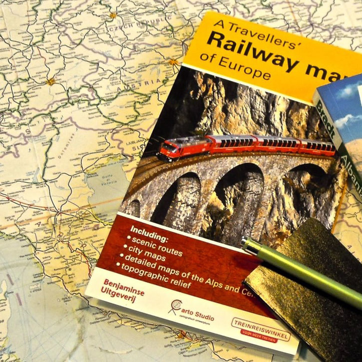 Eastern Europe by Railway / Trains / Karen McCann / EnjoyLivingAbroad.com