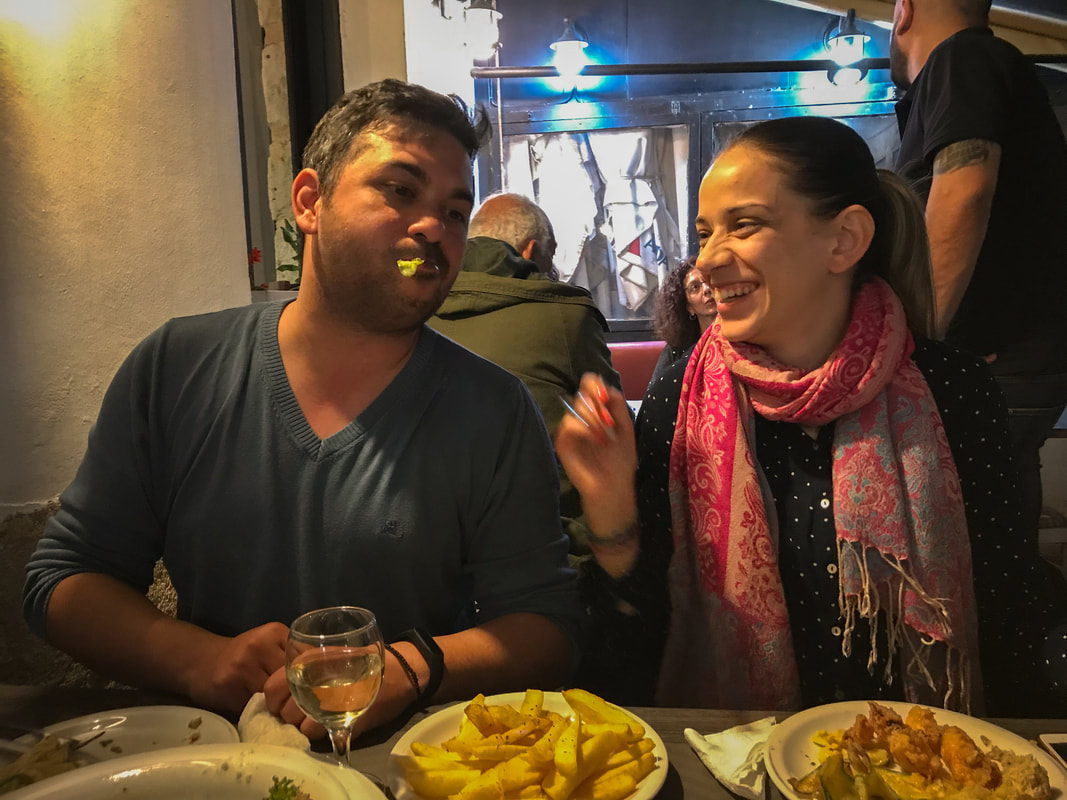 Packing, Food, Comfort: Lessons from 100 Days on the Road / Airbnb hosts in Heraklion, Greece / Karen McCann / EnjoyLivingAbroad.com