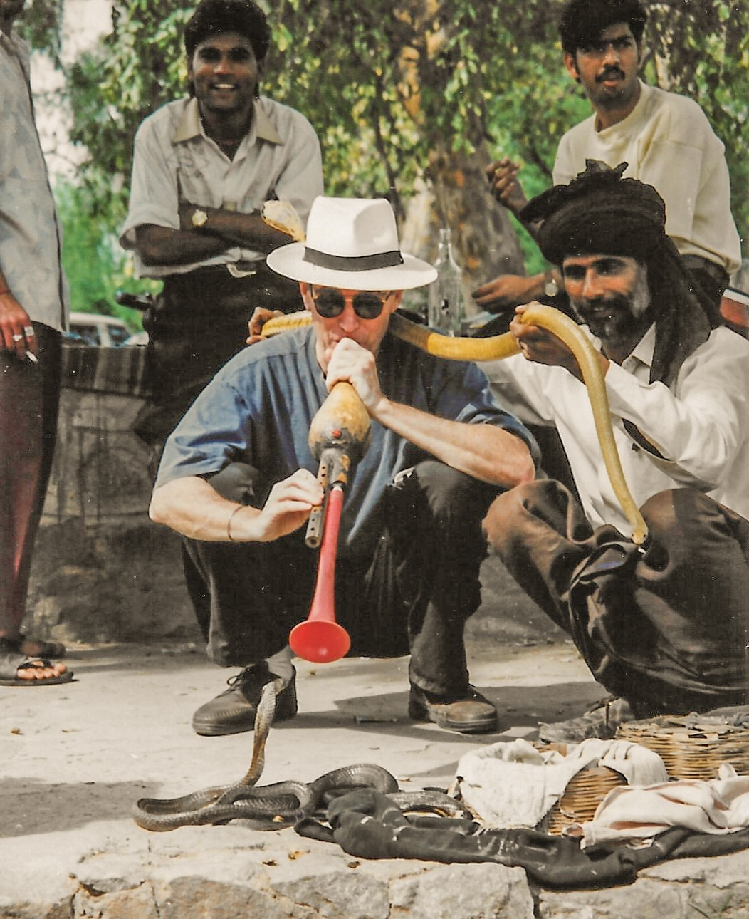 Rich copes with cobras in India / Expats Returning to a Changed America / Karen McCann / EnjoyLivingAbroad.com