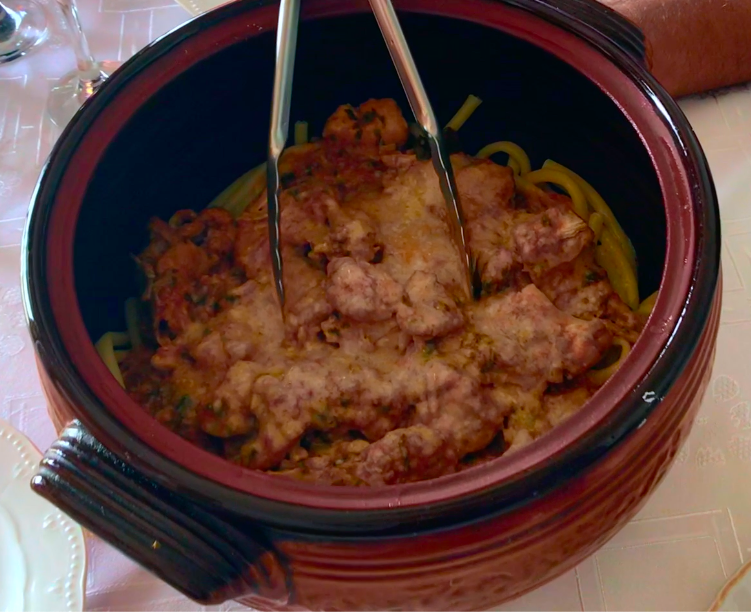 EatWith Athens, Greece /  Rooster Recipe from Corfu / Karen McCann