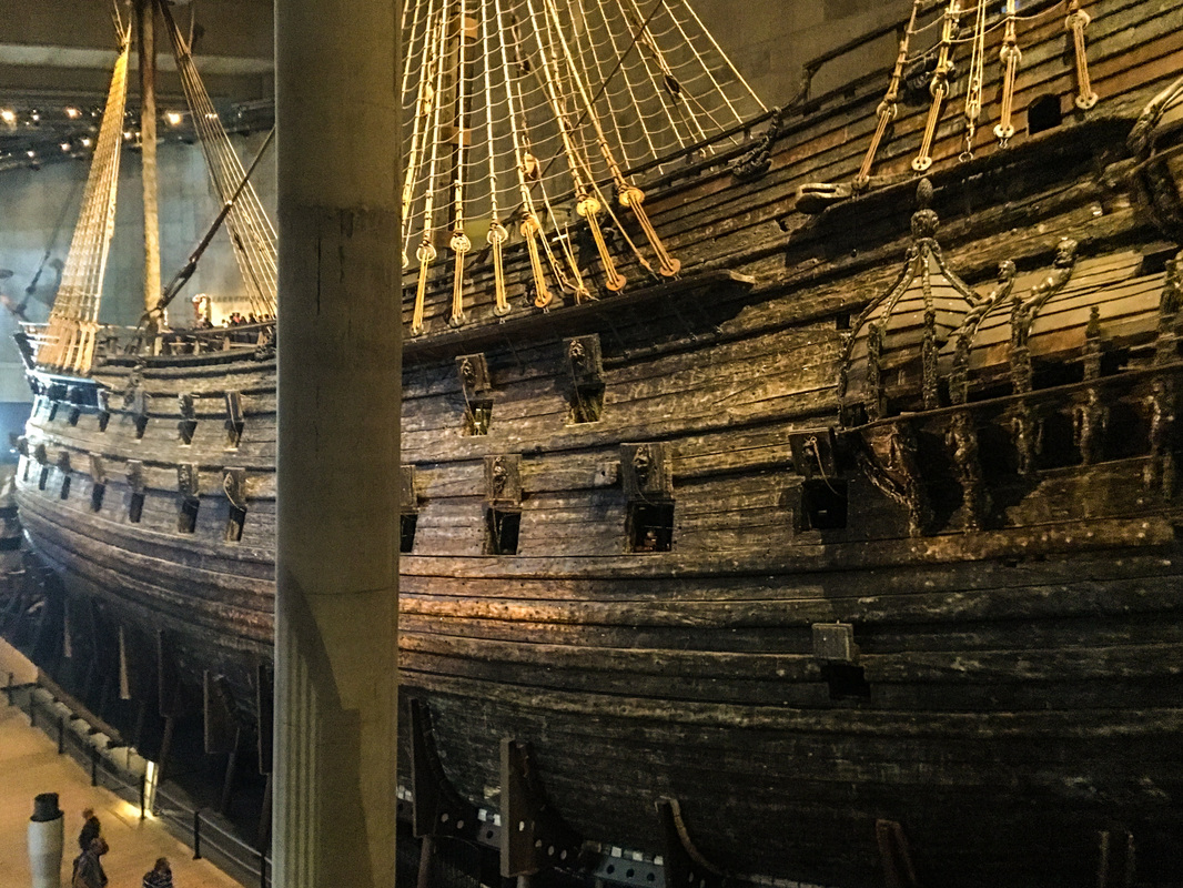 Stockholm disaster / The Vasa Museum / Karen McCann / EnjoyLivingAbroad.com